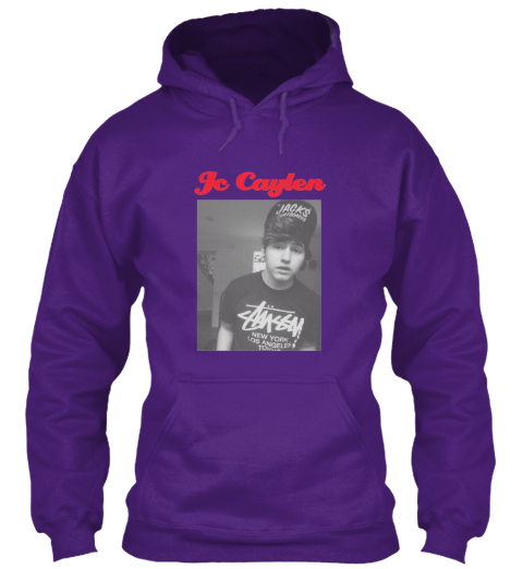 Jc Caylen  Purple Sweatshirt Front