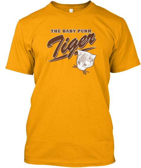 The Baby Purr Tiger Gold Kaos Front