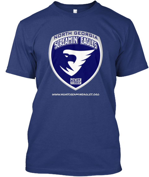 Www.Ngascreamineagles.Org Indigo T-Shirt Front