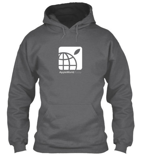 Appleworld.Today  Dark Heather Sweatshirt Front