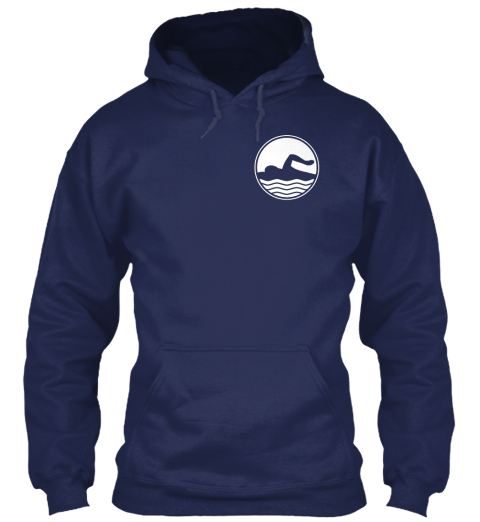 Some Girls Chase Boys... Navy Sweatshirt Front