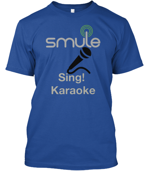 Smule sing karaoke products teespring smule t shirt stopboris Choice Image