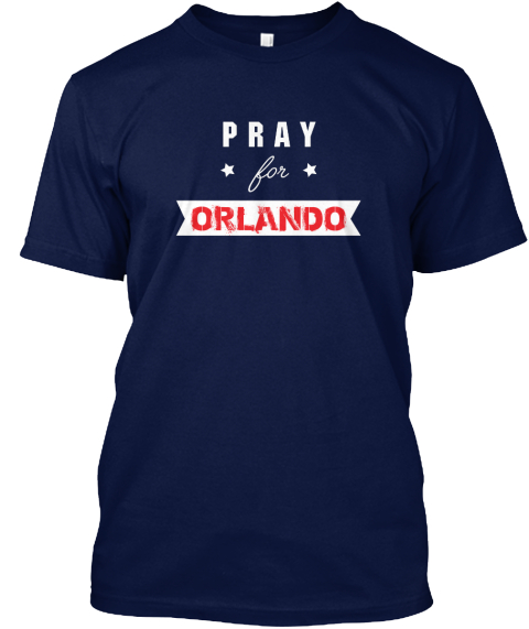 Prat For Orlando Navy T-Shirt Front