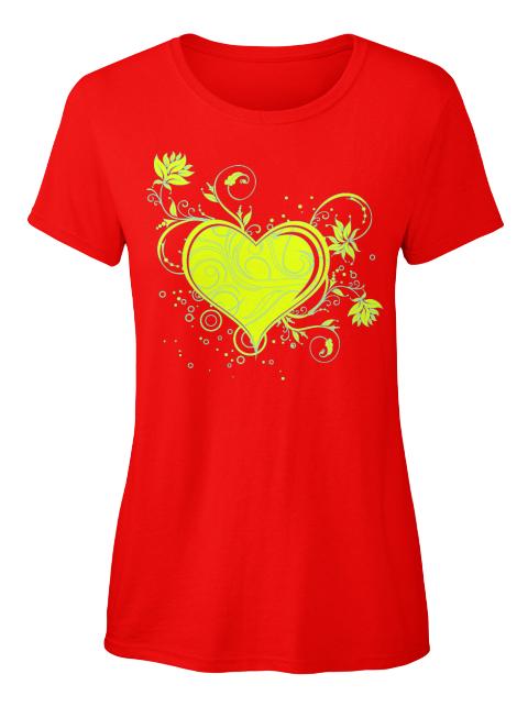 Funky Herz T-Shirt