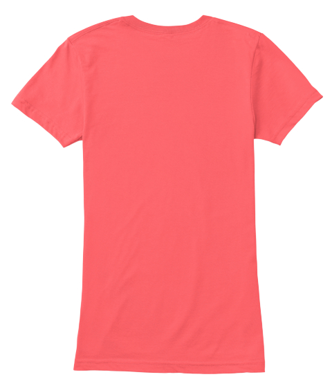 Na  Coral Women's T-Shirt Back