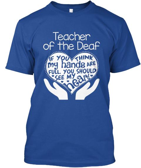 Teacher Of The Deaf Full Heart Teacher Of The Deaf If