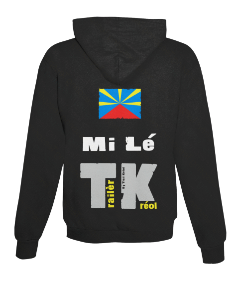 Mi Lé Tk Jet Black Sweatshirt Back