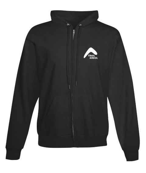 Trail Kreol Jet Black Sweatshirt Front