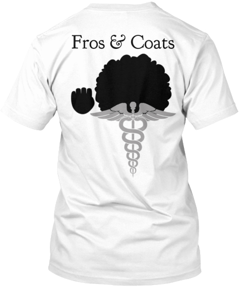 Fros & Coats White T-Shirt Back