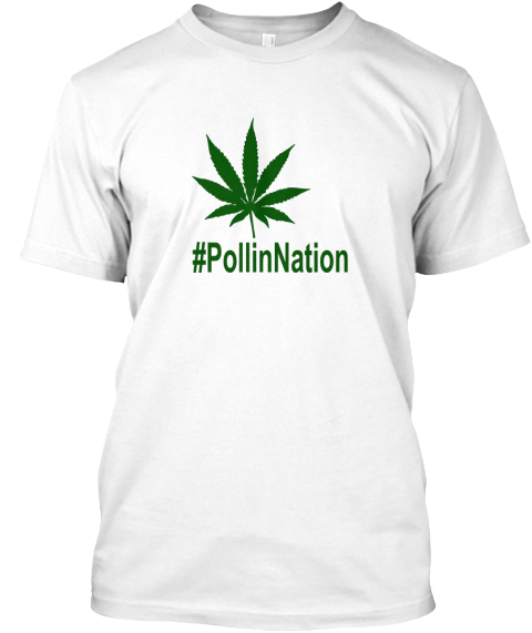 #Pollinnation White áo T-Shirt Front