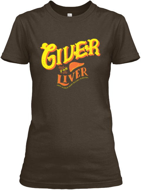 For 1 Year Old Safara Chloee's Liver Dark Chocolate T-Shirt Front
