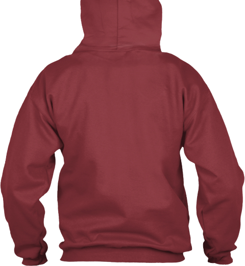 Na Maroon Sweatshirt Back