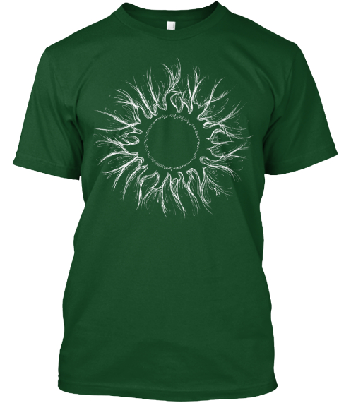 Na Forest Green  T-Shirt Front