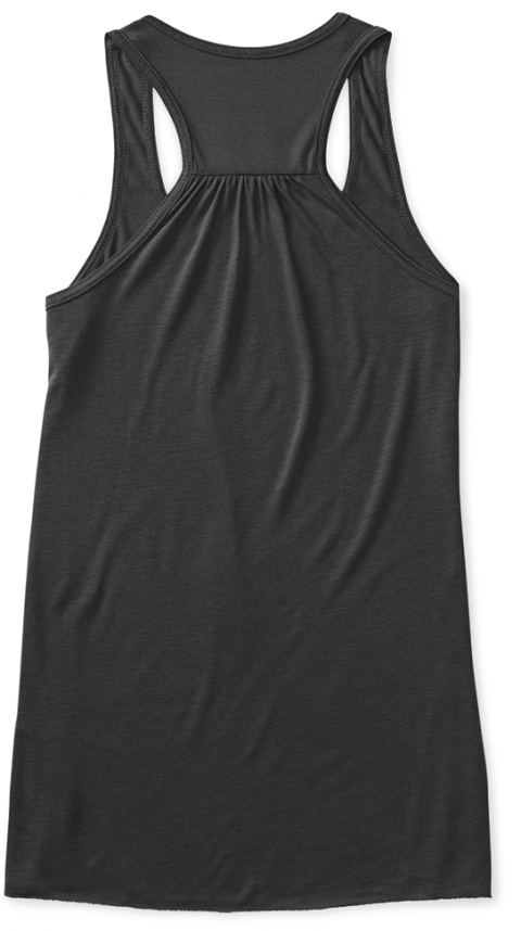 Montana Tank   Limited Edition! Dark Grey Heather Women's Tank Top Back