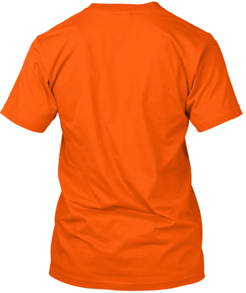 The Pen Addict #100 Commemorative Tee Orange T-Shirt Back