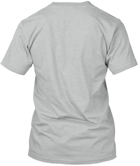 Inglewood / East Nashville / Tennessee! Athletic Grey T-Shirt Back