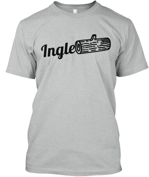 Ingle Athletic Grey T-Shirt Front