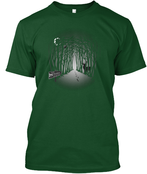 The Sojourner Summer Fundraiser Forest Green  T-Shirt Front