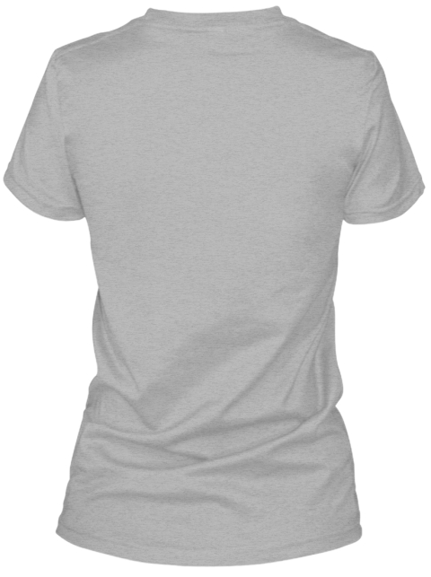 Victory For Violet Fundraiser Campaign Sport Grey Women's T-Shirt Back