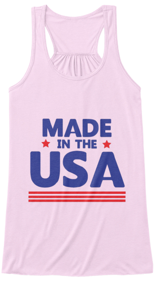 Made In The Usa Women's Tank Top Front