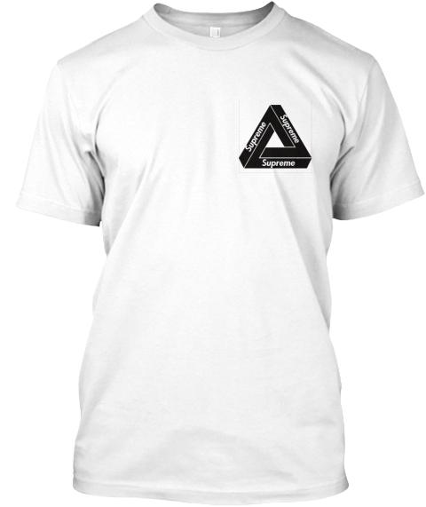 ada20384013d Supreme x Palace Tee. Supreme Supreme Supreme White T-Shirt Front