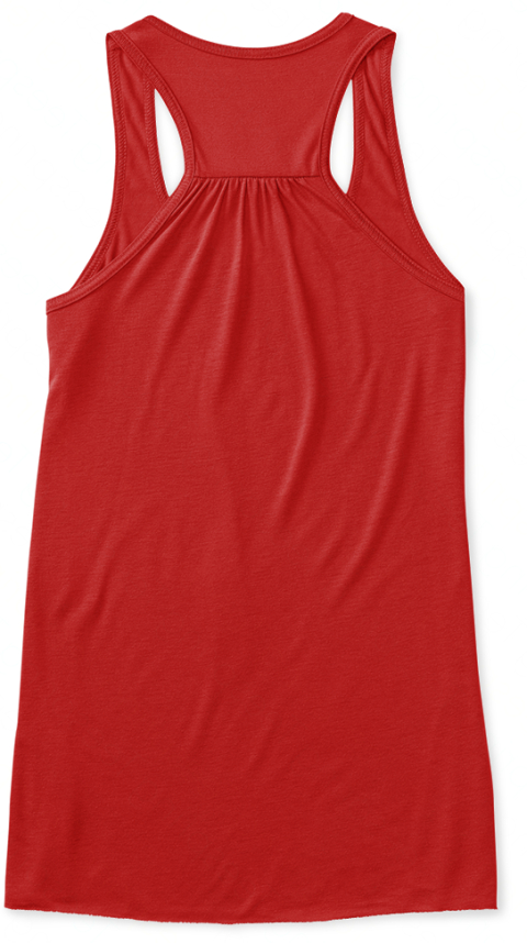 Pr's And Potatoes: Fueled By Real Food Red Women's Tank Top Back