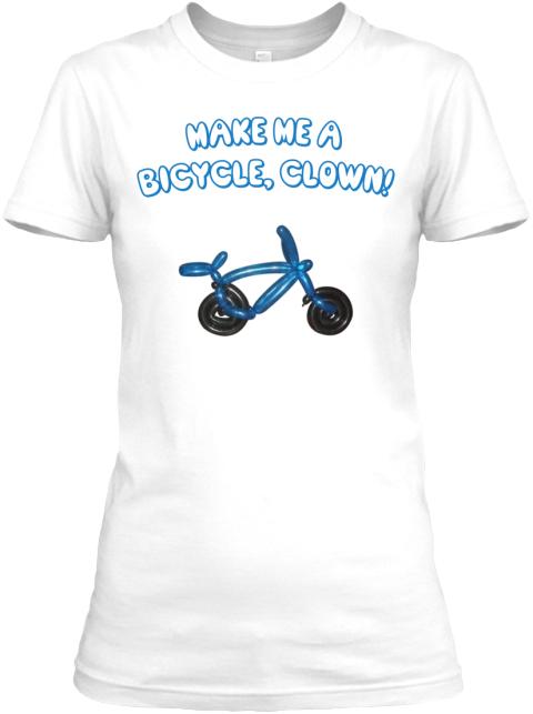Make me a bicycle clown