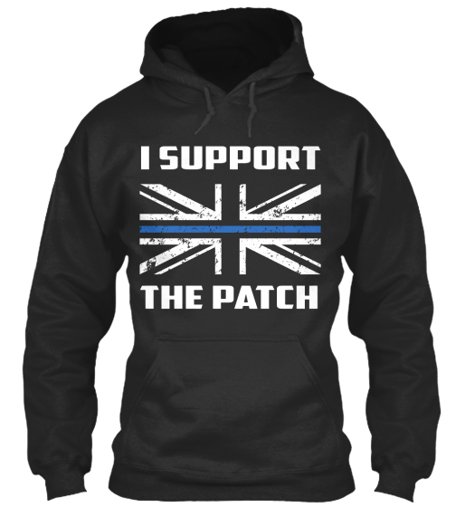 I Support The Patch  Sweatshirt Front