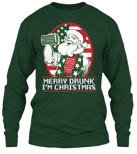Merry Drunk I'm Christmas - merry drunk im christmas Products ...