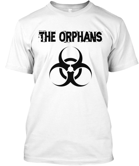 The Orphans White T-Shirt Front