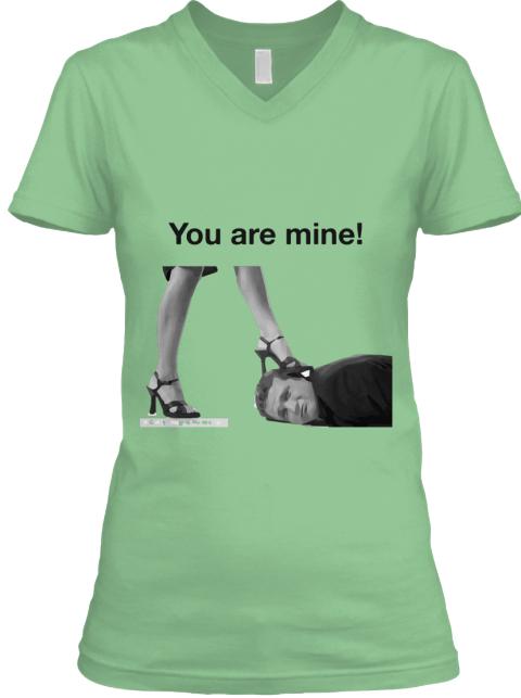 Female domination tee shirt photos