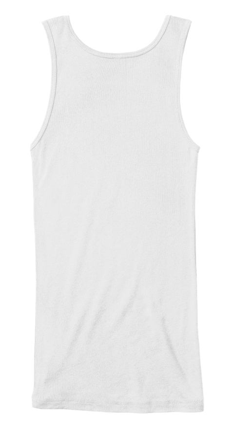 I Need Some Beach Therapy White Women's Tank Top Back