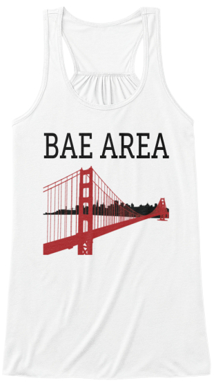 Bae Area Women's Tank Top Front