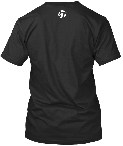 T Black T-Shirt Back