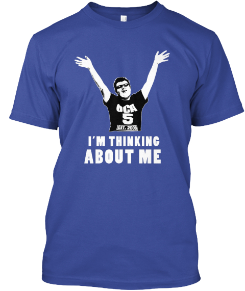 Wear Henry's Catch Phrase! Deep Royal T-Shirt Front