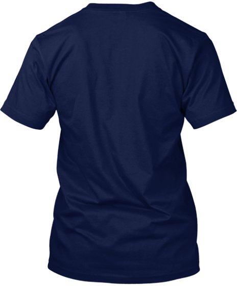 Winners Don't Use Drugs Navy T-Shirt Back