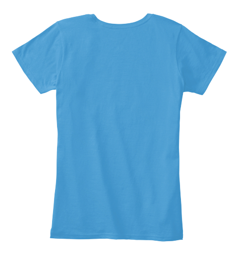 Best Gift For Friend Day Heathered Bright Turquoise   Women's T-Shirt Back