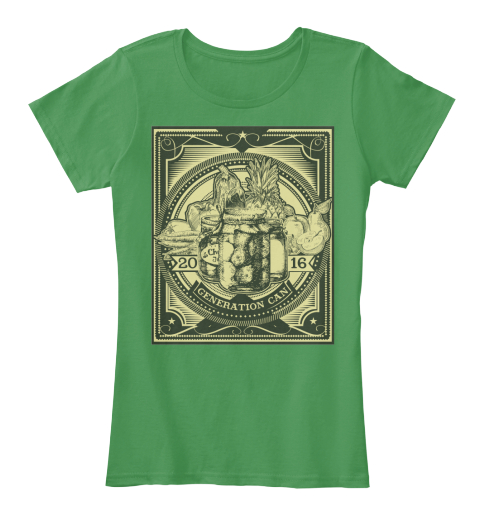 2016 Generation Can Kelly Green  Women's T-Shirt Front
