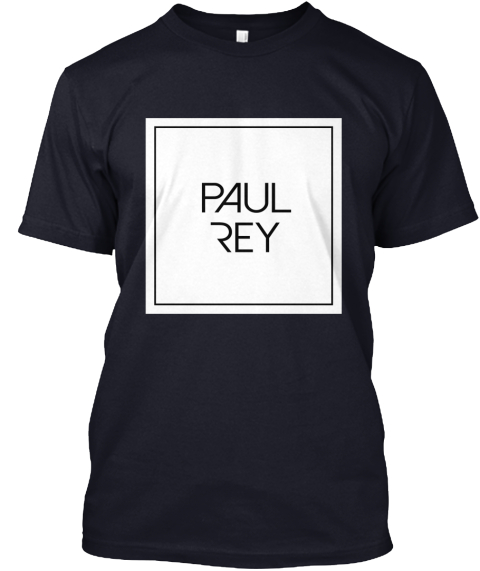Paul Rey Navy T-Shirt Front