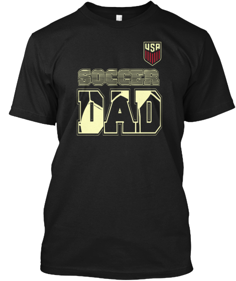 """Awesome """"Soccer DAD"""" T-shirt"""