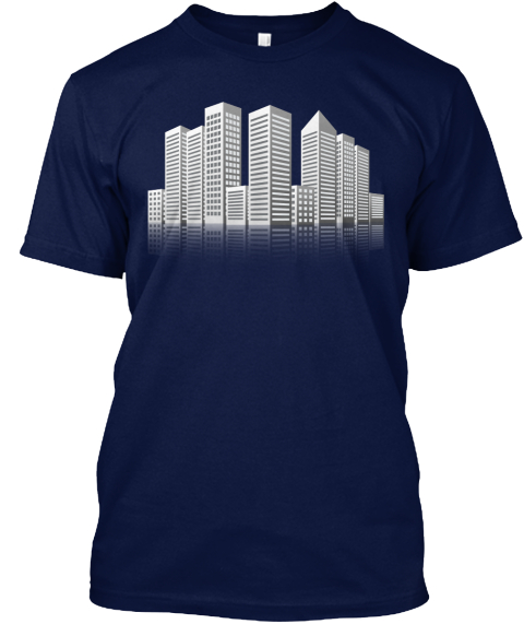 My City. Limited Edition!!! Navy T-Shirt Front
