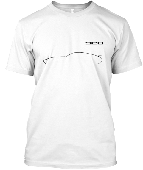 928 White T-Shirt Front