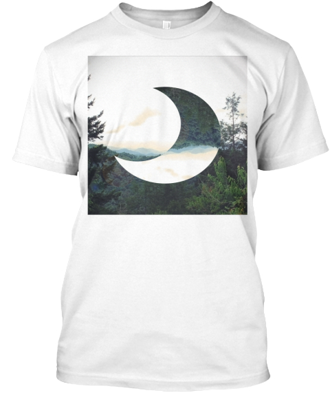 To Make Shirts For The World. White T-Shirt Front