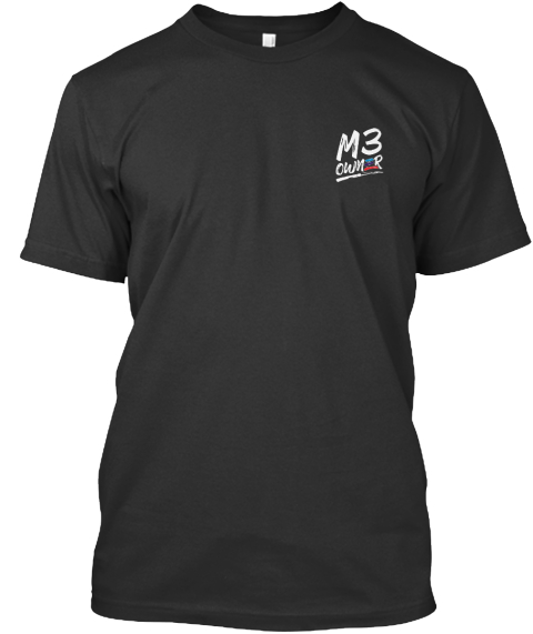 M3 Owner Black T-Shirt Front
