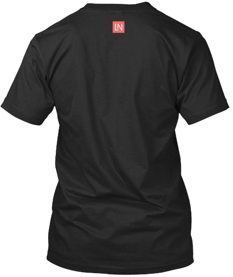 Ln Black T-Shirt Back