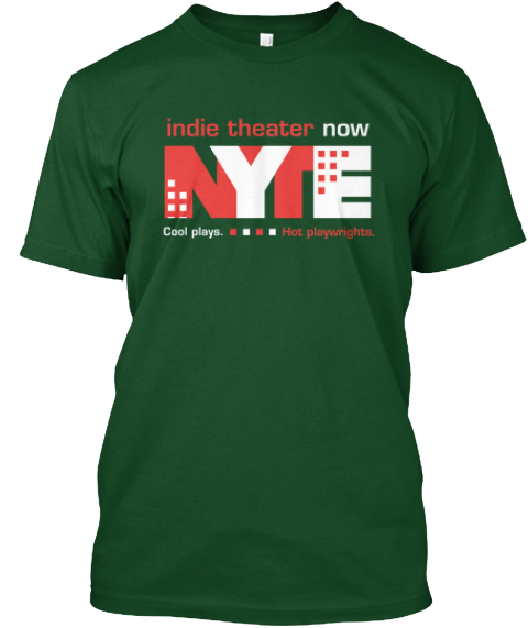 Indie Theater Now Tees   Limited Edition Deep Forest T-Shirt Front