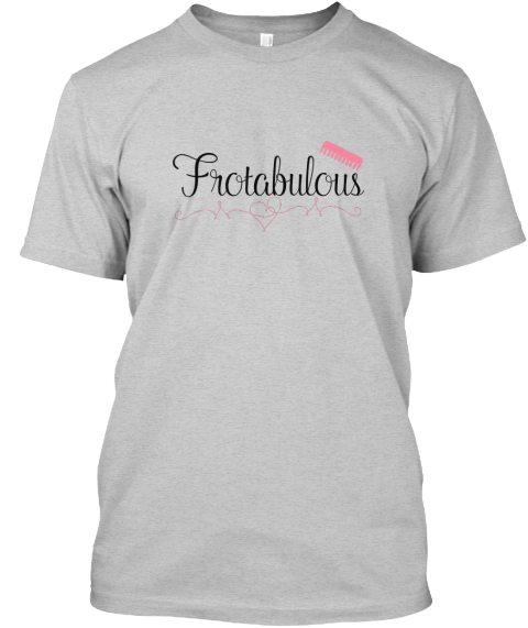 Frotabulous Light Steel T-Shirt Front