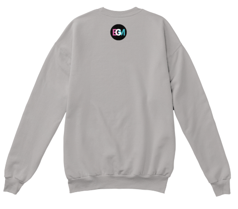 Bgm Light Steel  Sweatshirt Back