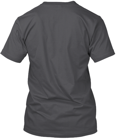 Then   Rob Hansen   Cover Charcoal T-Shirt Back