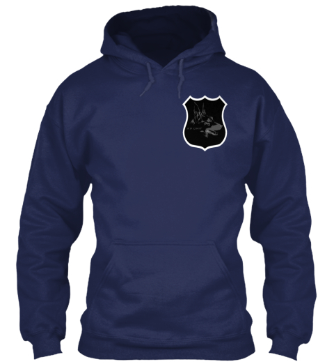 Run, I Dare You! Navy Sweatshirt Front